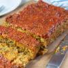 Smoky Vegan Quinoa Lentil Loaf