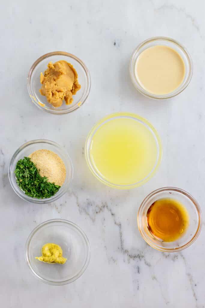 vegan lemon miso tahini dressing  vegan and oilfree recipes  zardyplants