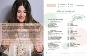 Sample page with table of contents