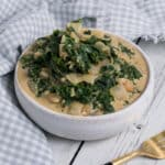 Vegan Creamed Kale in a bowl