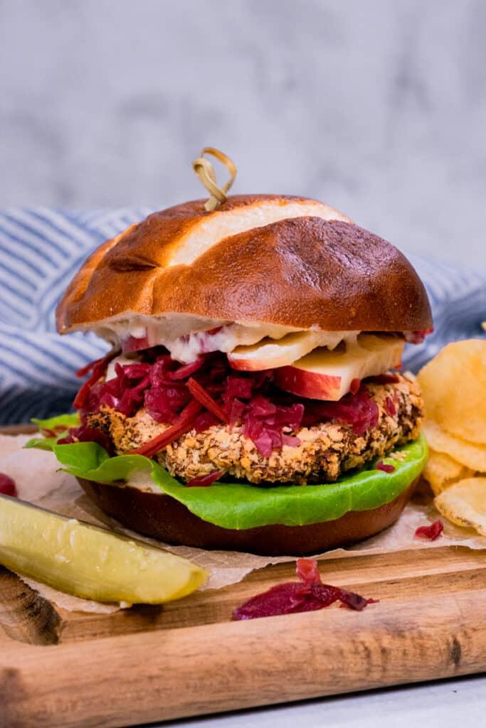 Vegan Schnitzel Sandwich