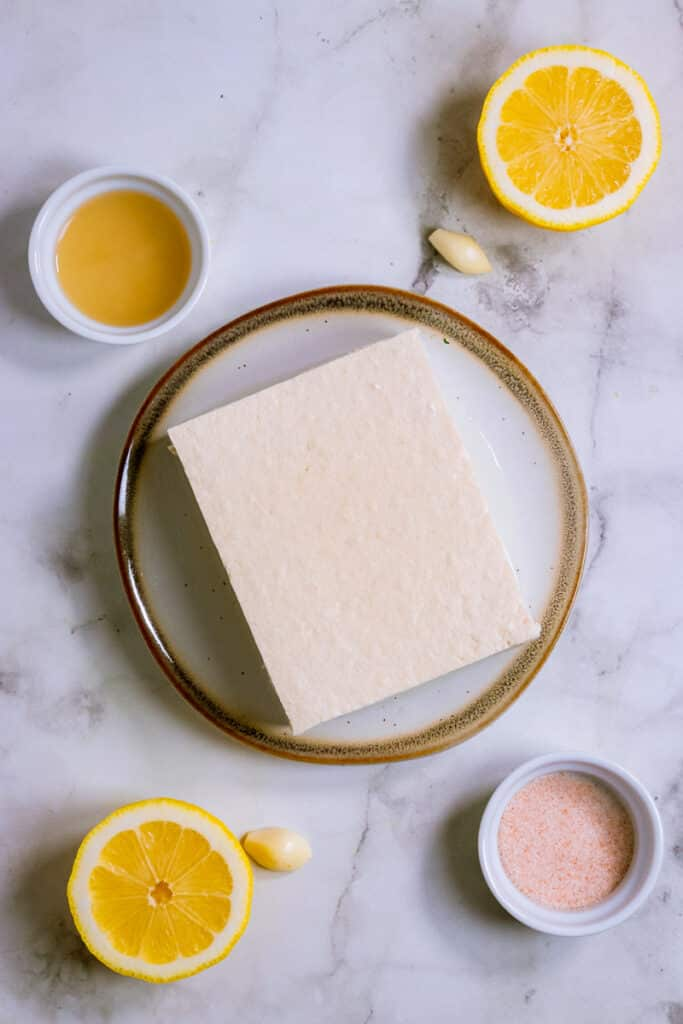 Tofu and other ingredients
