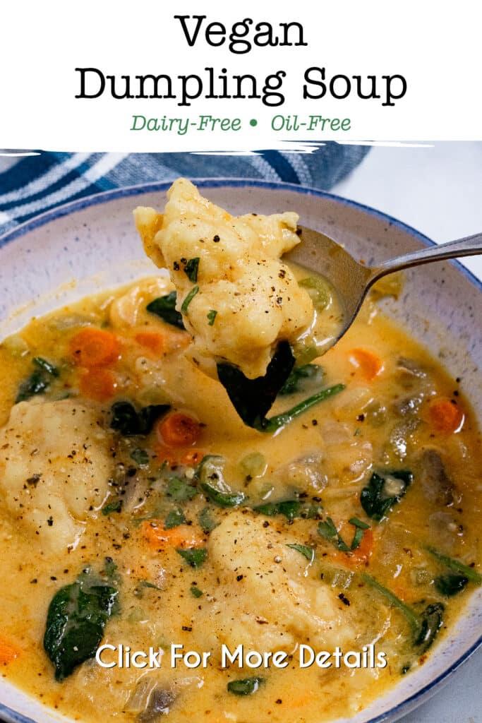 Pinterest image for the dumpling stew
