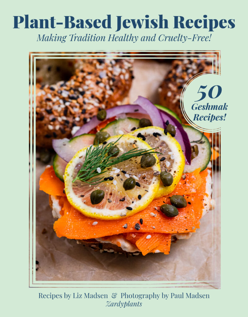 Cover for Plant-Based Jewish Recipes