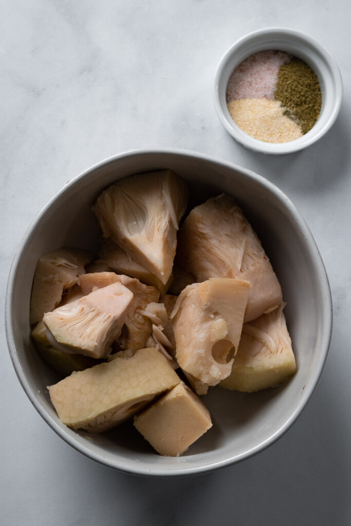 Young Jackfruit and spices