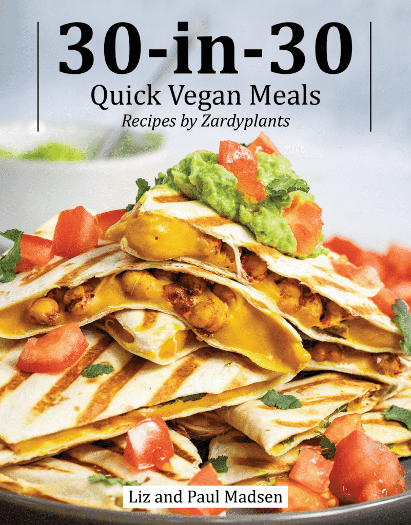 Vegan recipe ebook cover