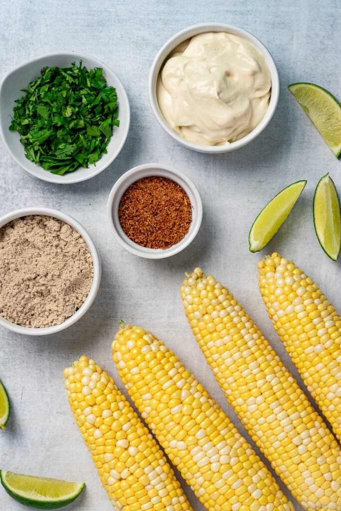 Corn, mayo, cotija and spices