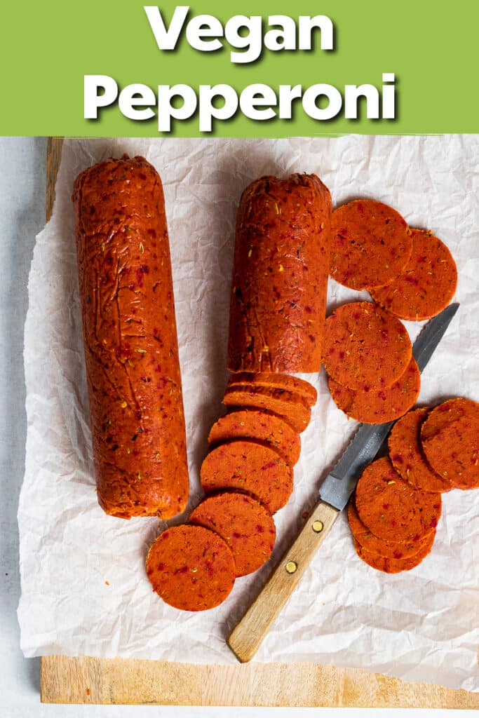 Pinterest image for the pepperoni