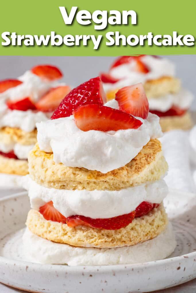 Pinterest image for the shortcake